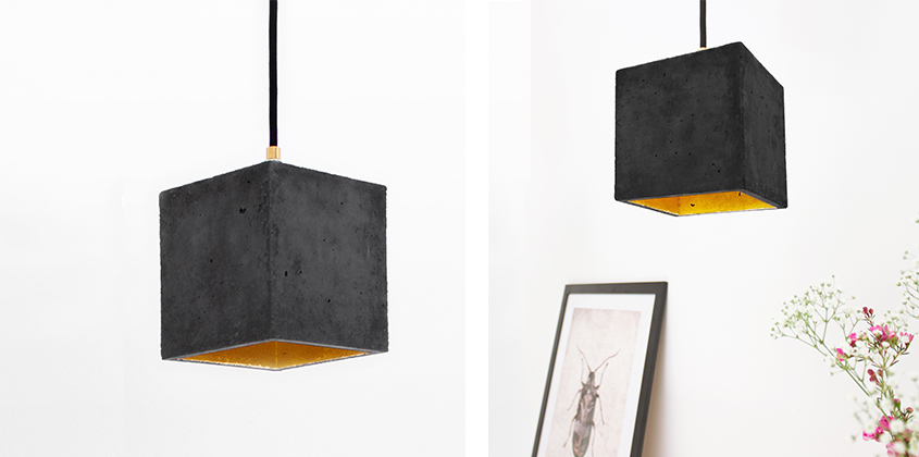 Boxo Dark Pendant Light