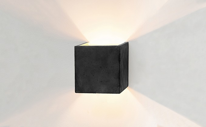 Boxo Dark Wall Light