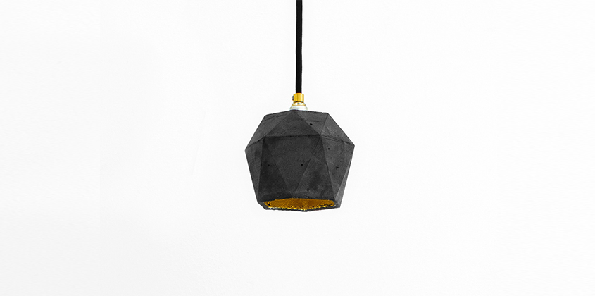 Diamond Dark Pendant Light