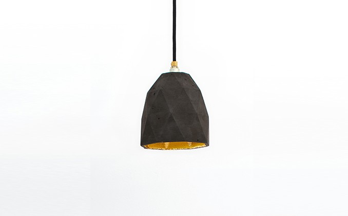 Honeycomb Dark Pendant Light