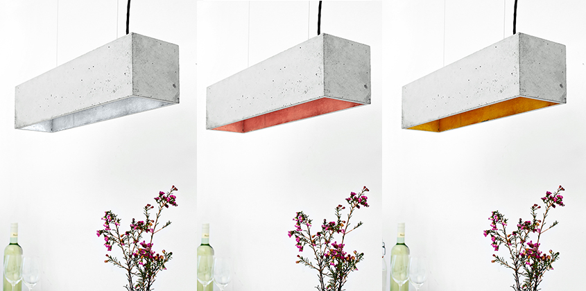Concrete Lighting Industriel Pendant Light
