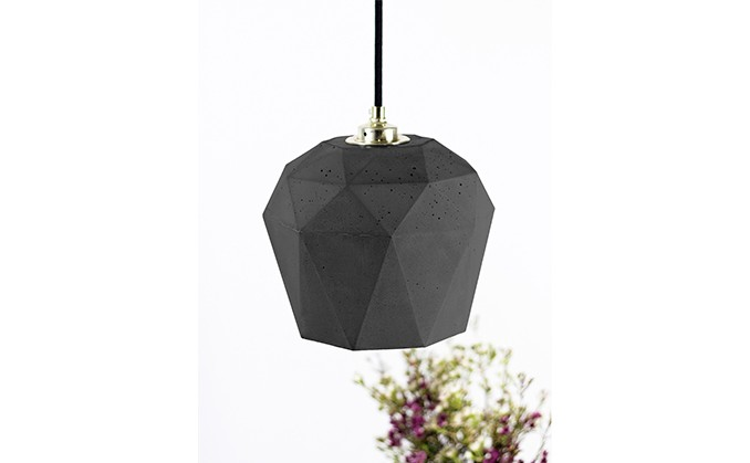 Big Diamond Dark Pendant Light